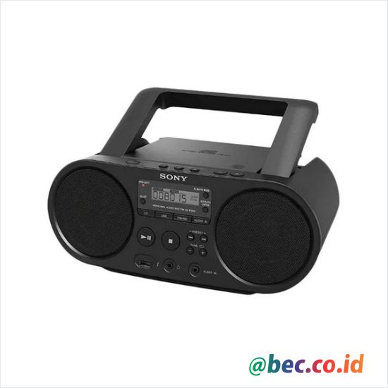 SONY ZSPS50 CD Boombox with USB Playback